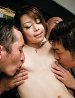 Raunchy Maki Hojo with fingers in her wet cunt cums hard