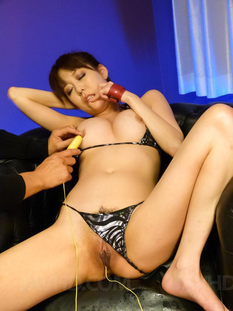 Arisa nakano gets nailed in rough threesome action 2