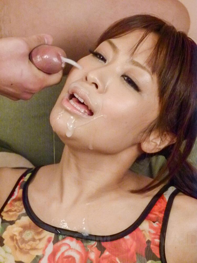 on girl Cum japanese
