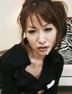 スレンダー美女倉知莉花ちゃんを強制フェラからイラマチオ。連続口内射精でお口の中はドロドロのザーメンまみれ。